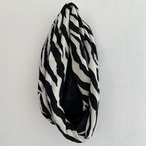 Call It Spring - Zebra Print Infinity Scarf
